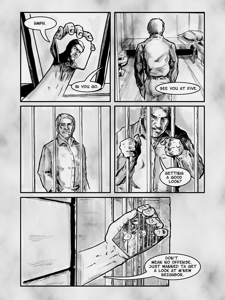 The Executioner is a Lonely Man, page 2