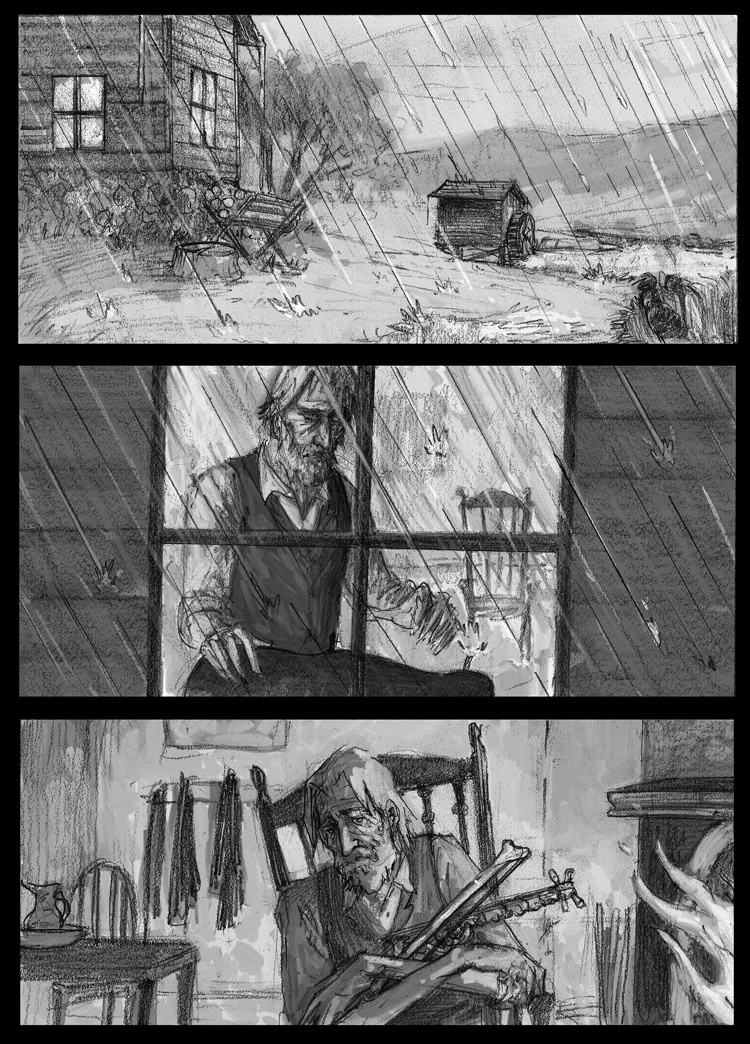 The Wind and The Rain, by Sam Costello and Neal von Flue