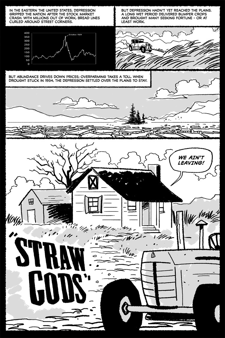 Straw Gods, by Sam Costello and TJ Kirsch
