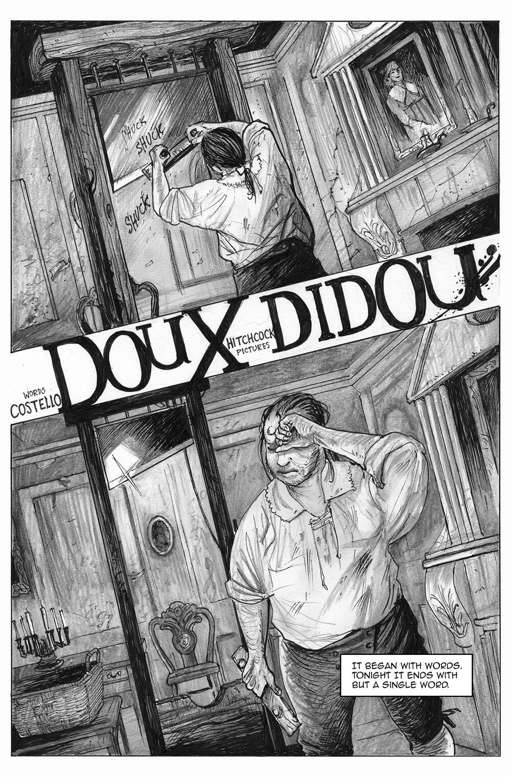 Doux Didou, page 1, by Sam Costello and David Hitchcock